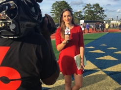 Sideline for Liberty at Charleston Southern